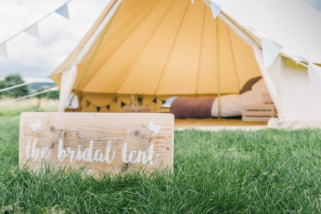 Bridal tent from Bears and Butterflies