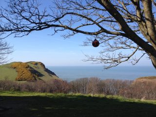 Spring camping in Ilfracombe