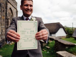 Be a man and get involved in the wedding prep