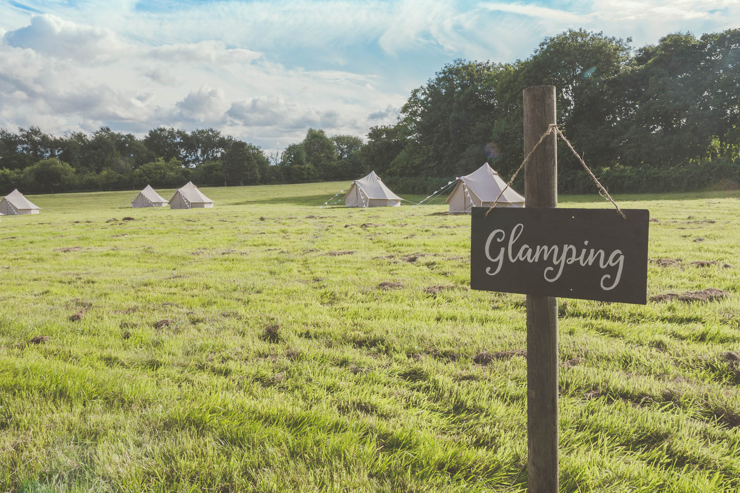 Luxury Bell tent hire Yorkshire